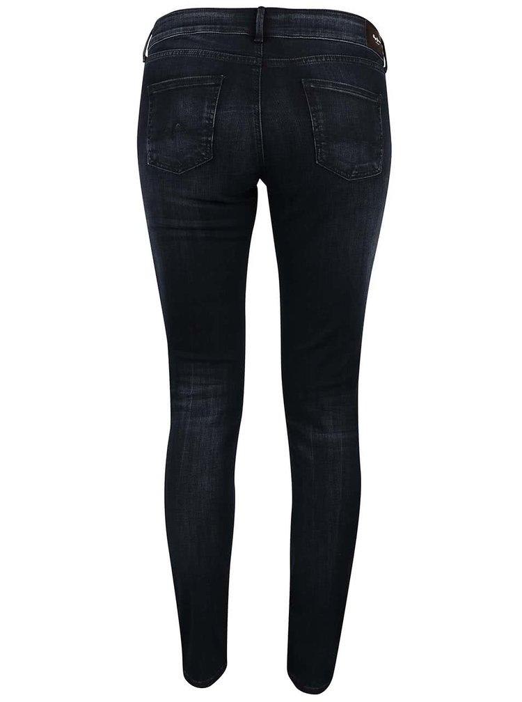Tmavě modré dámské slim fit džíny Pepe Jeans Pixie