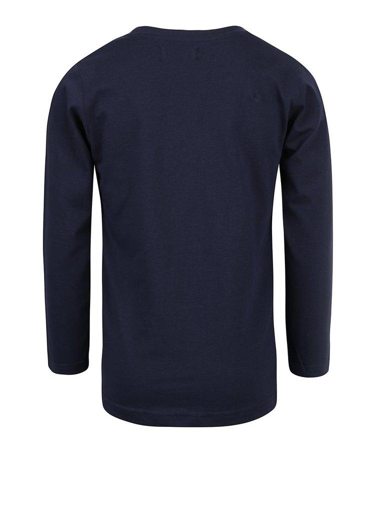 Tmavomodré chlapčenské tričko s westernovým motívom Blue Seven