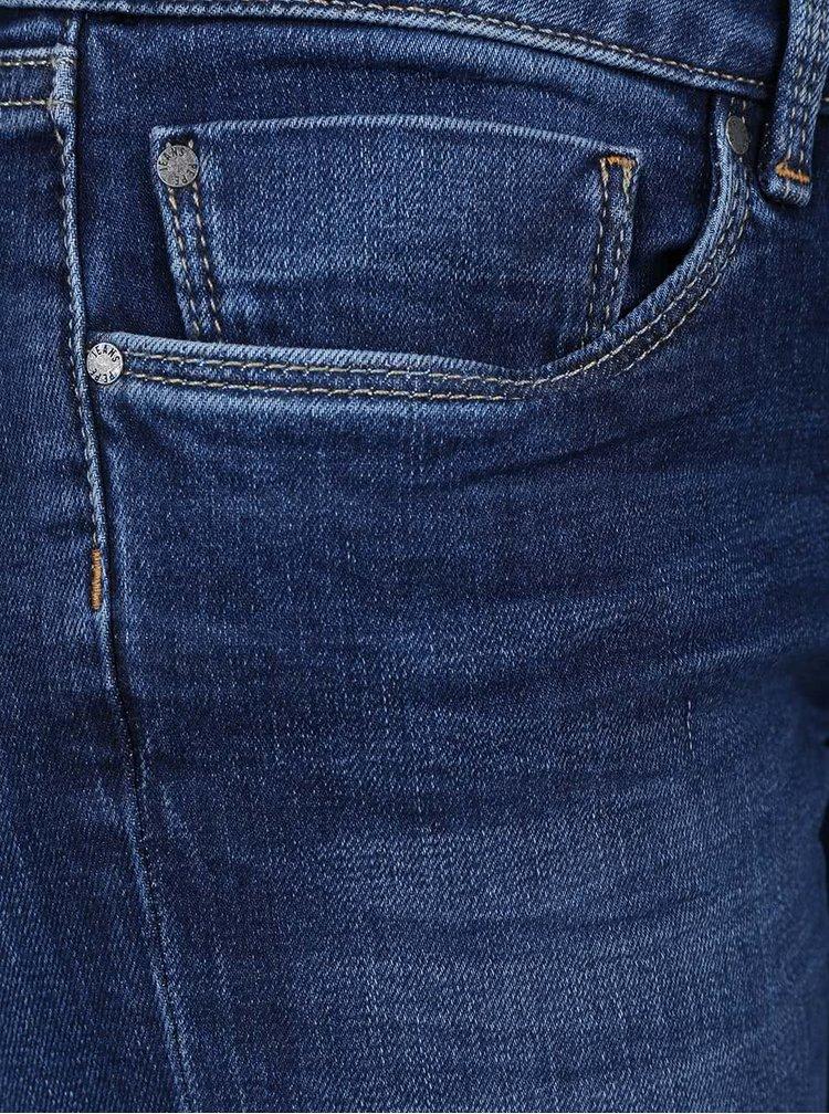 Blugi albastru închis slim fit Pepe Jeans Soho