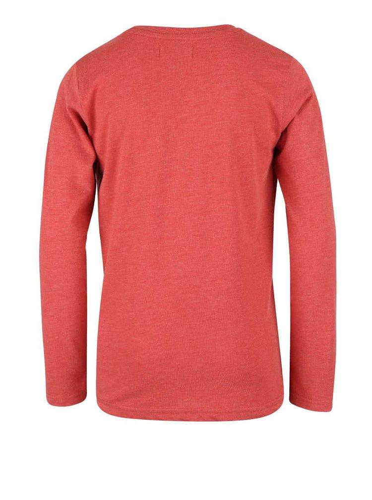 Červené klučičí triko s kulatým výstřihem Blue Seven