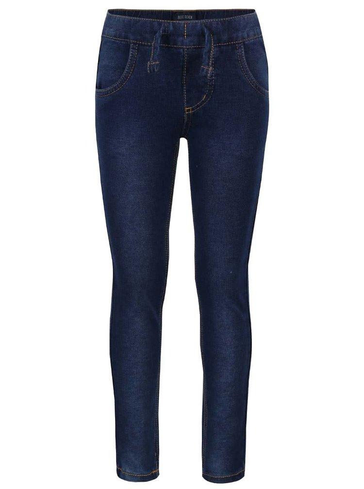 Modré holčičí elastické džíny Blue Seven