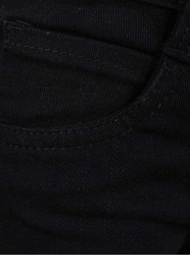 Černé klučičí kalhoty Blue Seven