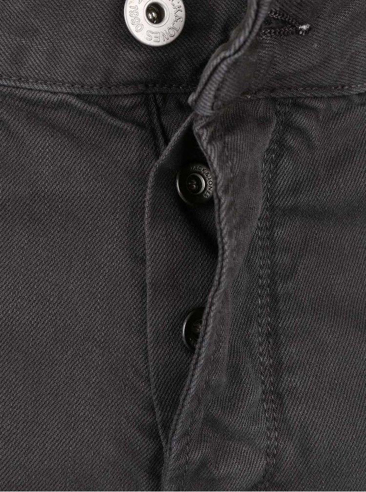 Tmavě šedé džíny Jack & Jones Mike