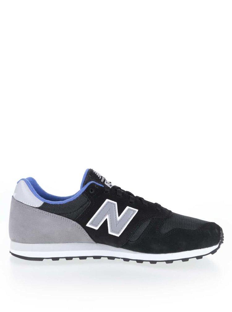 Šedo-černé pánské tenisky New Balance