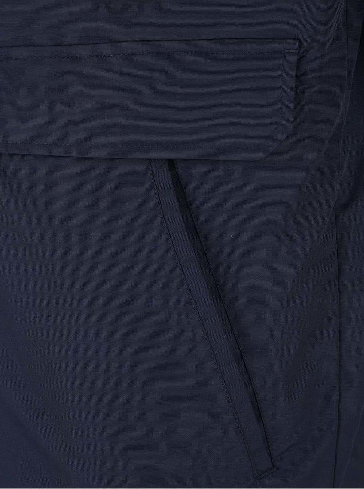 Tmavomodrá bunda s odnímateľnou vestou Original Penguin Ottoman
