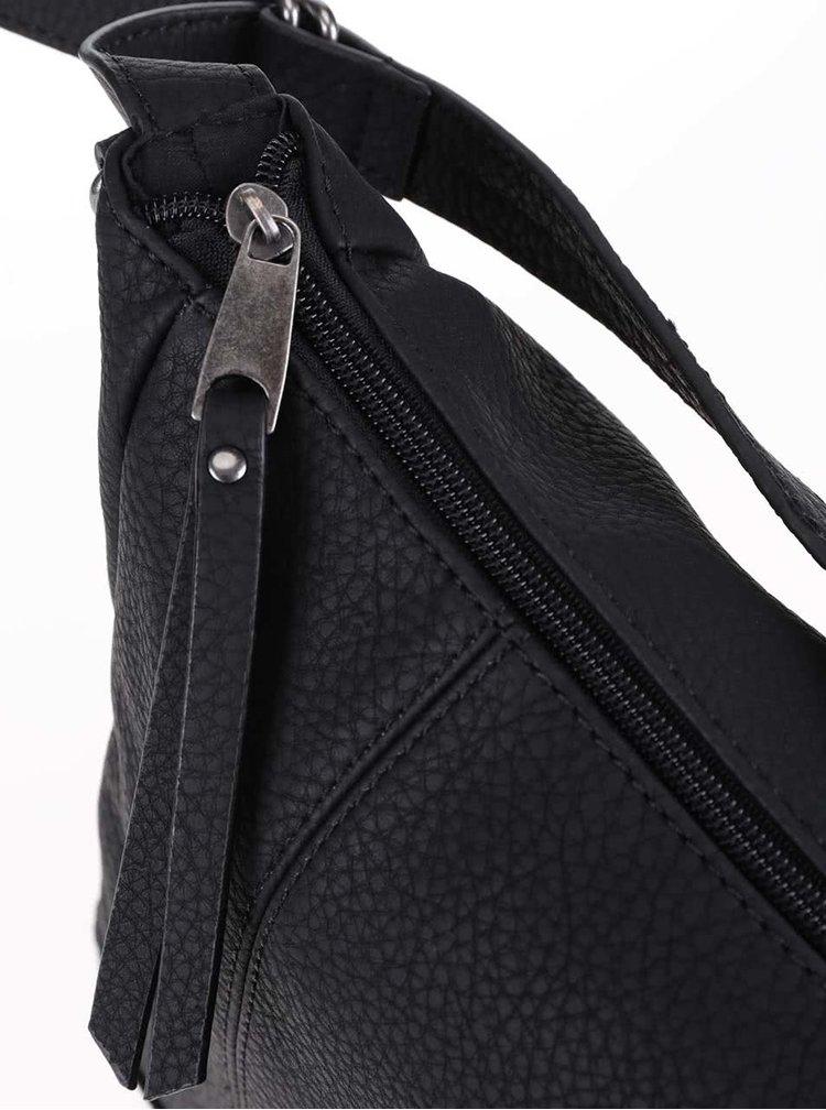 Černá crossbody kabelka Pieces Pebee