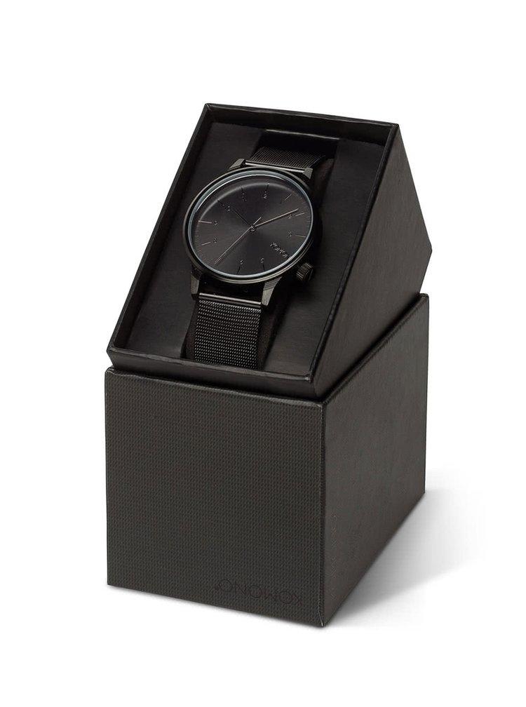 Ceas negru bărbătesc  Komono Winston Royal