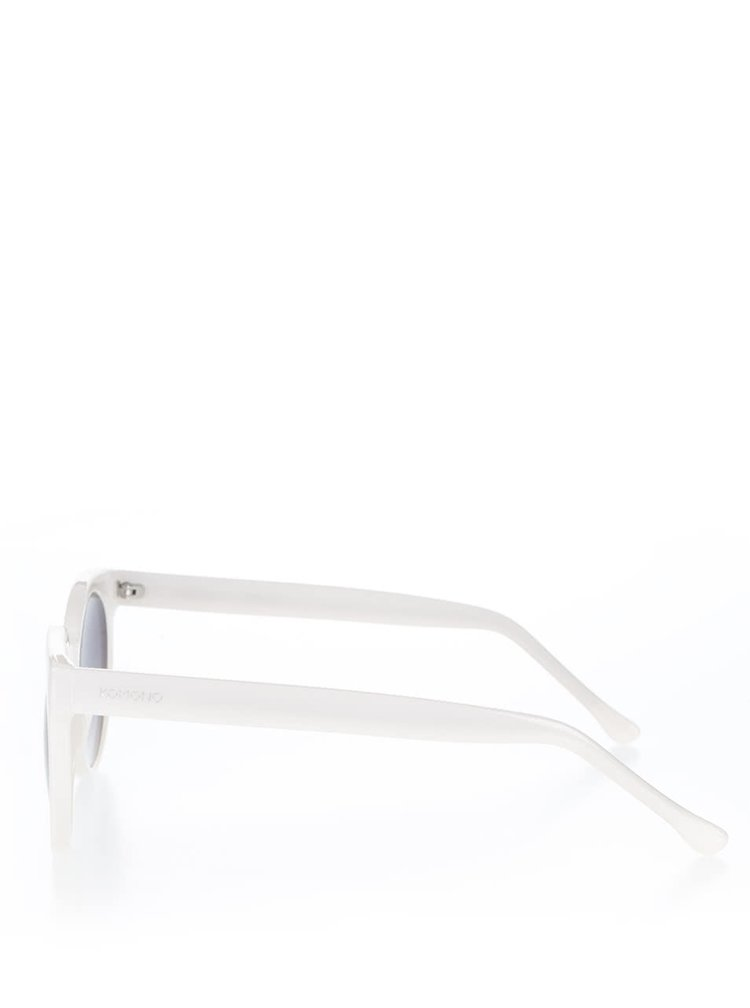 Krémové dámské sluneční brýle Komono Lulu