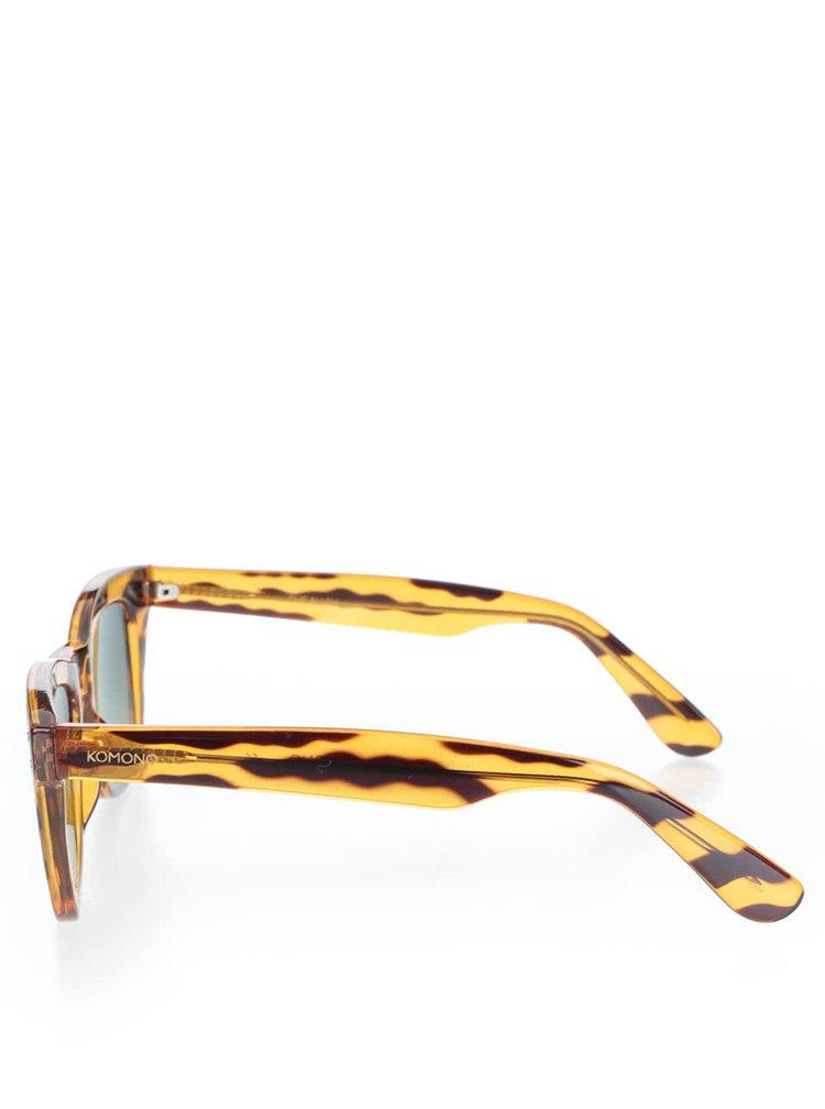 Ochelari de soare maro femei Komono Urkel