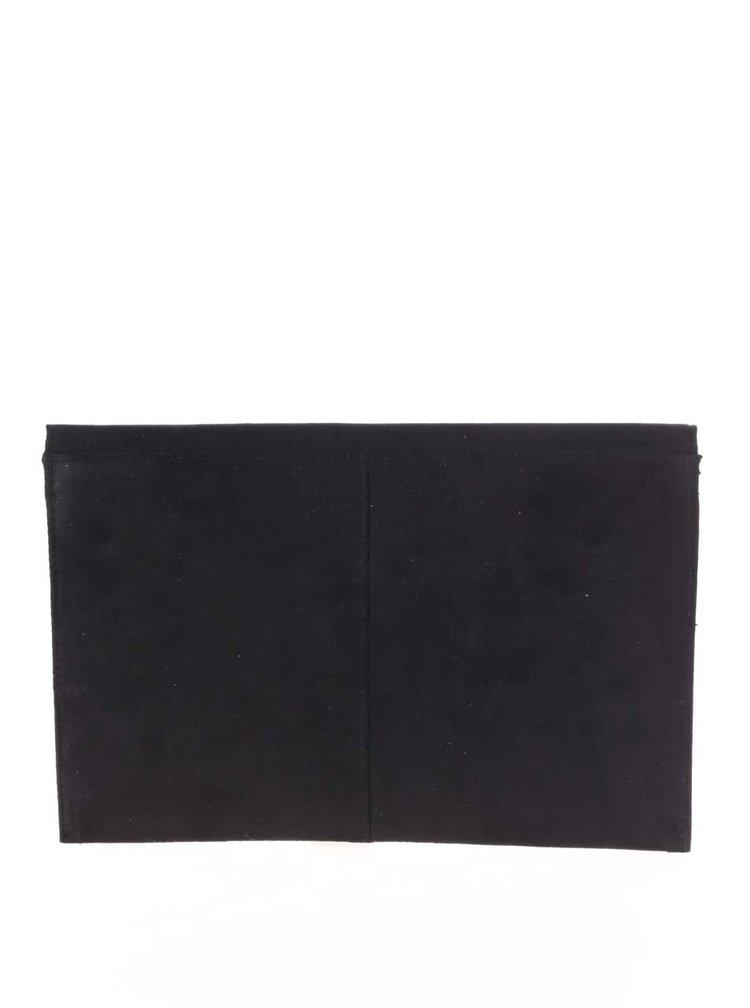 Černé psaníčko v semišové úpravě Dorothy Perkins