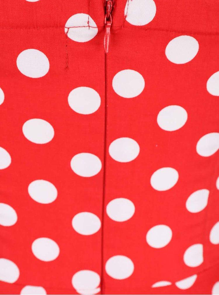 Rochie roșie Dolly & Dotty Melissa cu buline