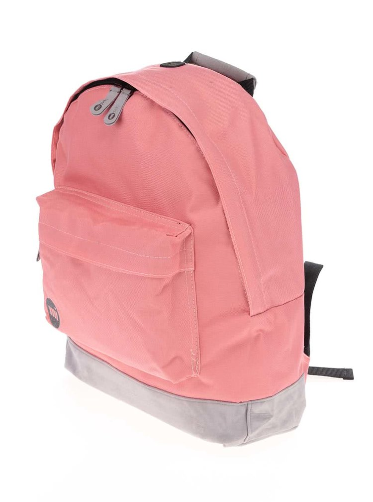 Sivo-ružový unisex batoh Mi-Pac Classic