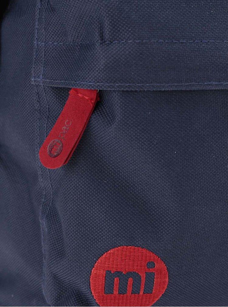 Červeno-modrý unisex batoh Mi-Pac Classic