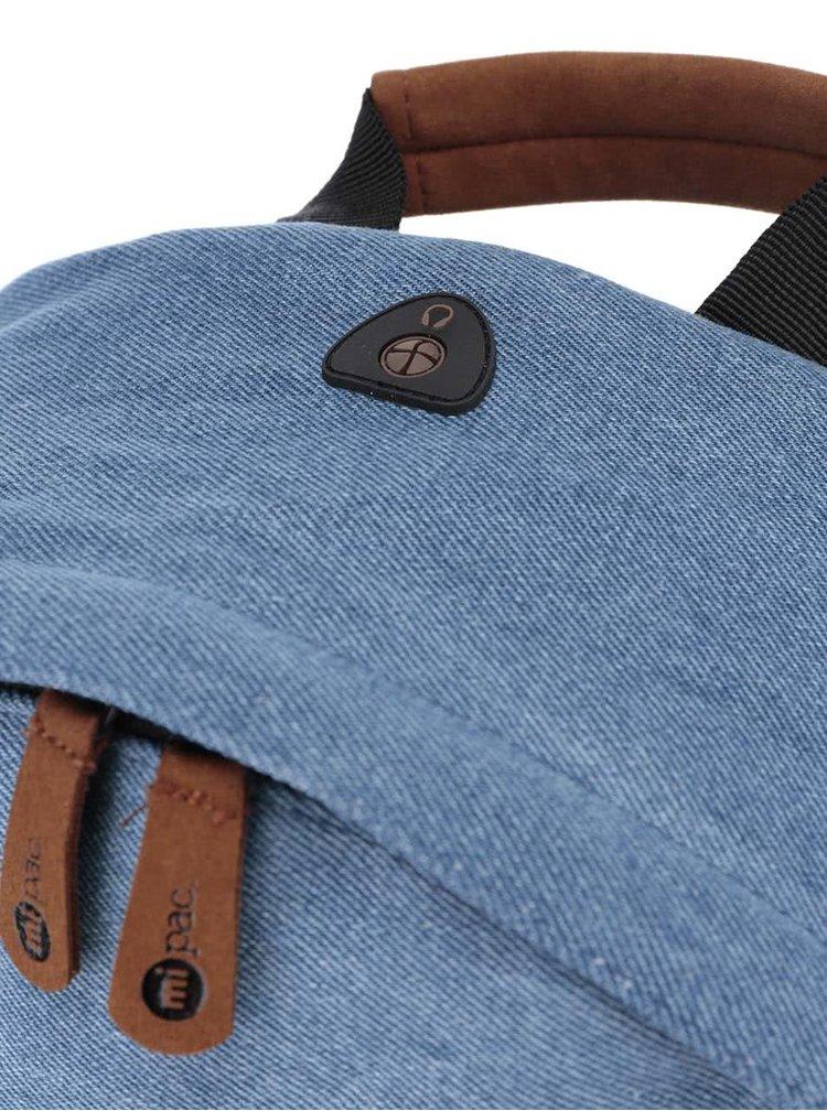 Rucsac albastru unisex Mi-Pac Denim Patch