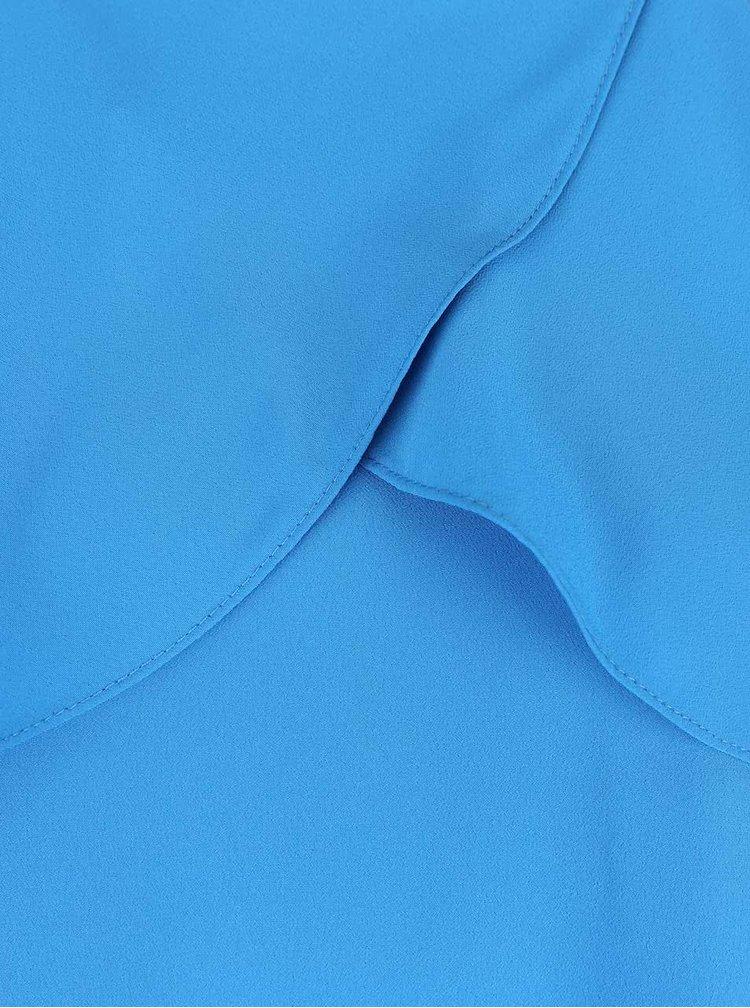 Rochie albastră cu volane Miss Selfridge