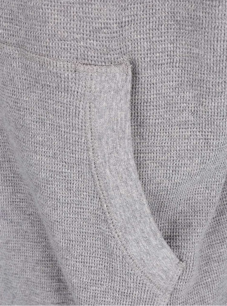 Sivá mikina s kapucňou Burton Menswear London