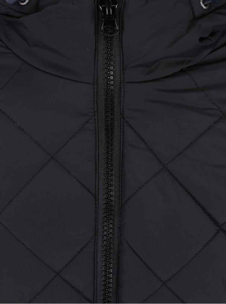 Čierna prešívaná bunda Blend