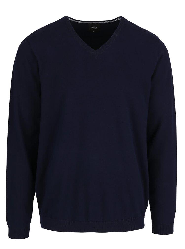 Bluza cu maneca lunga Burton Menswear London albastra