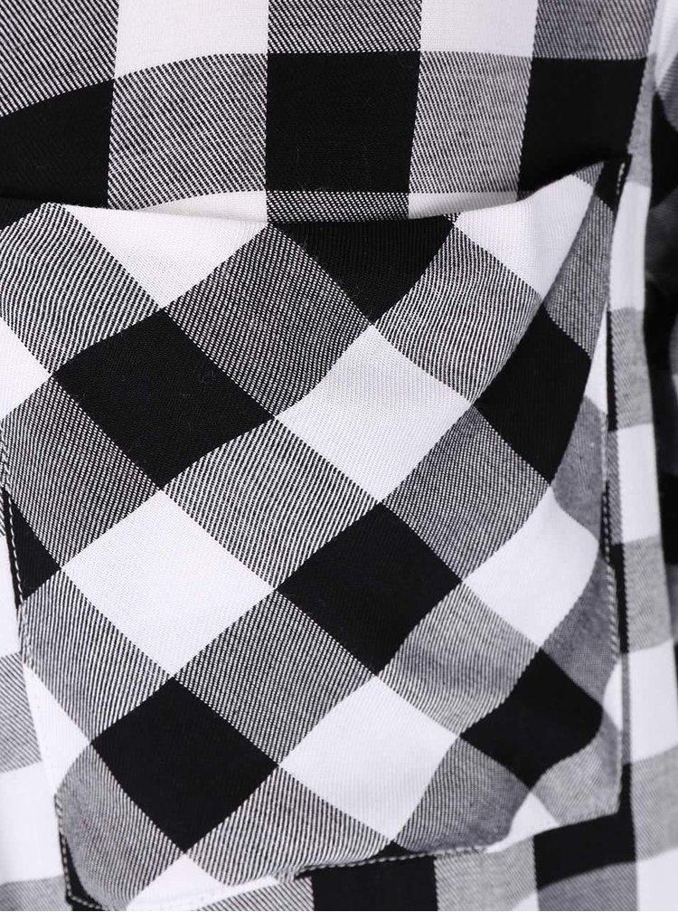 Camasa in carouri alb cu negru Haily's Alina