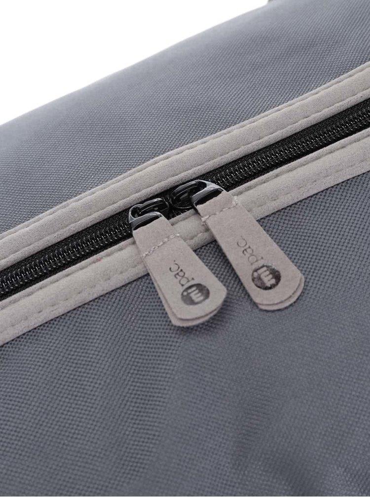Sivá športová taška Mi-Pac Classic