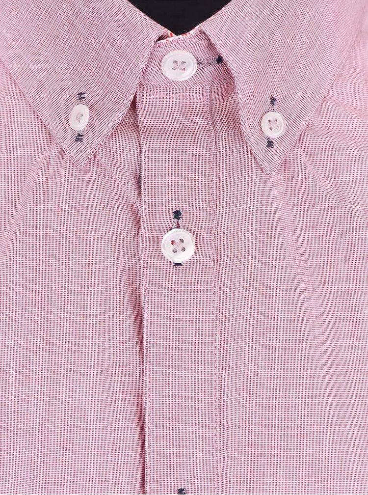 Cămașă cu mânecă scurtă Burton Menswear London roz