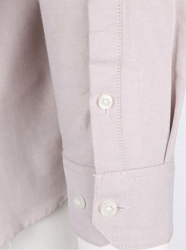 Béžová neformálna košeľa Burton Menswear London
