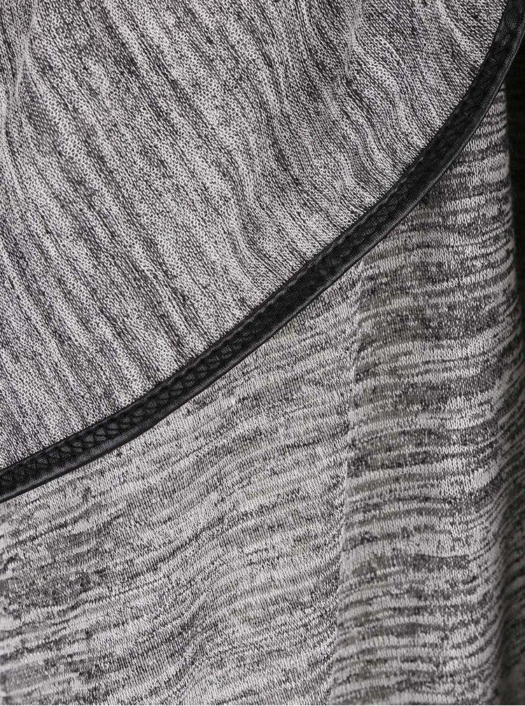 Tmavě šedý žíhaný cardigan Haily´s Carrisa