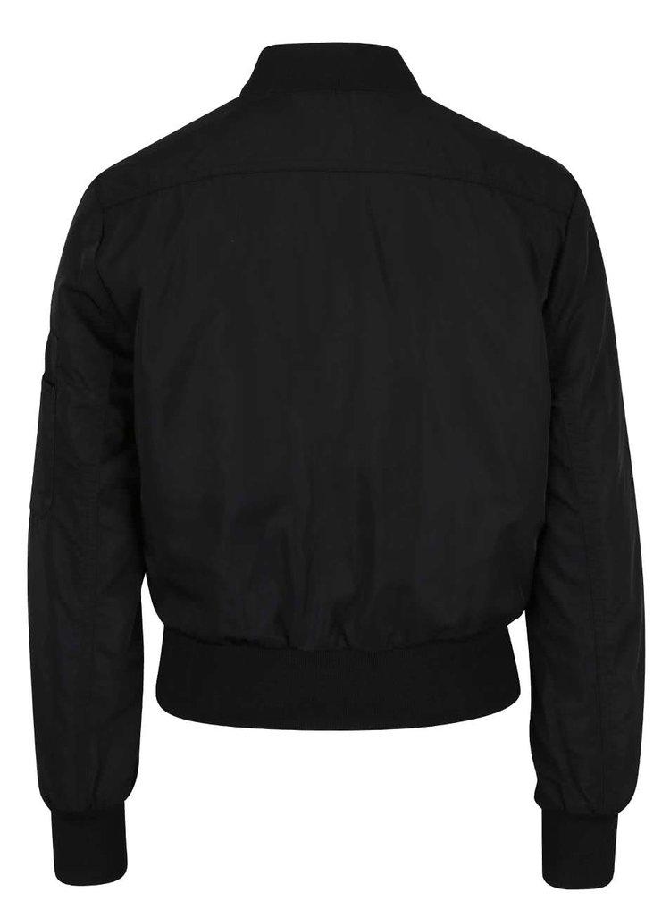 Jachetă bomber neagră TALLY WEiJL