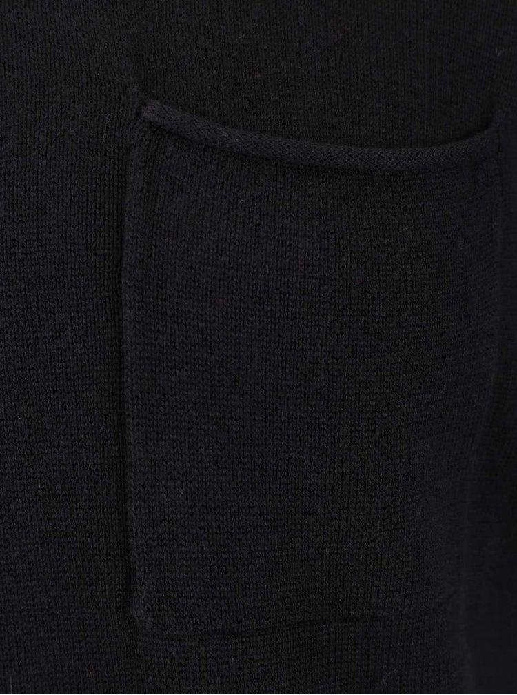 Černý svetr s kapsou Blend