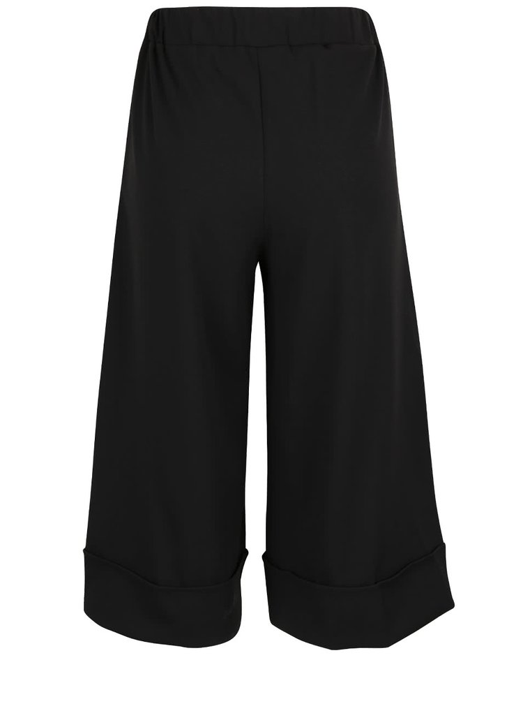 Čierne culottes nohavice Haily's Mabel