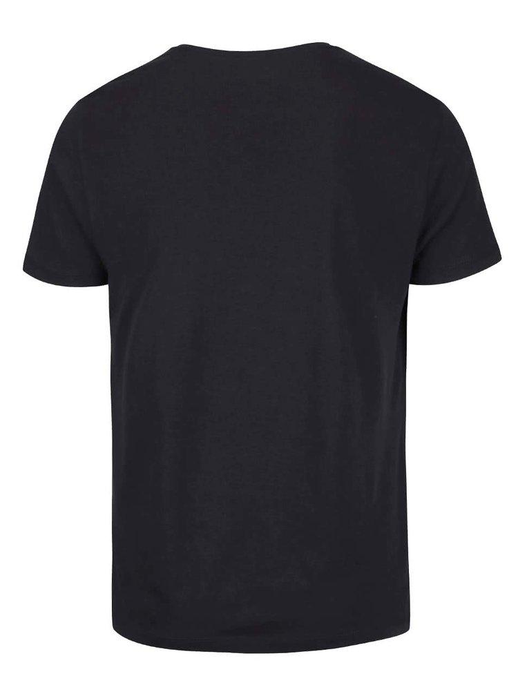 Černé triko s potiskem Blend