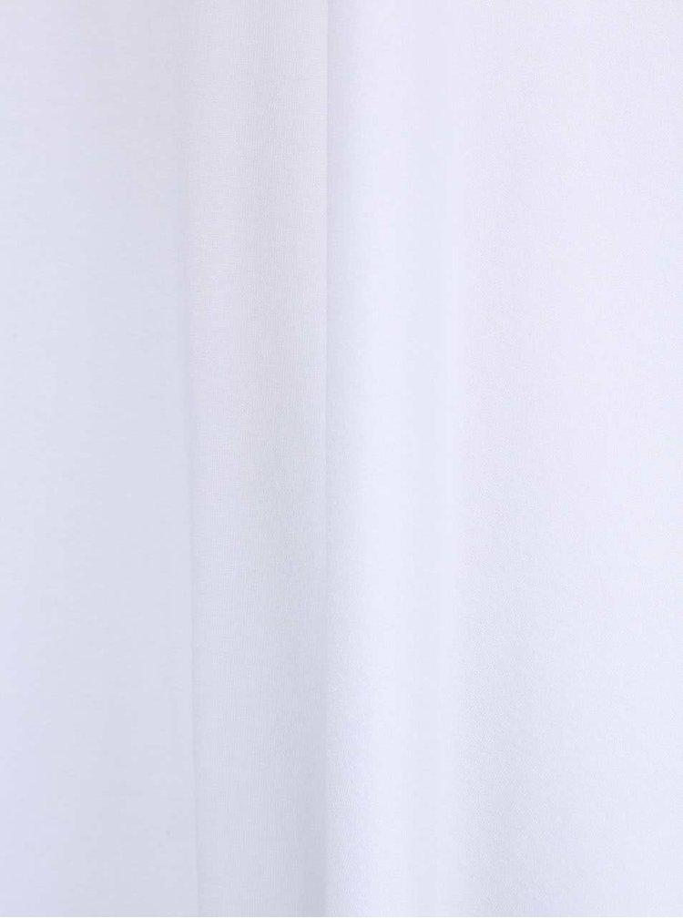 Tricou alb oversized ZOOT