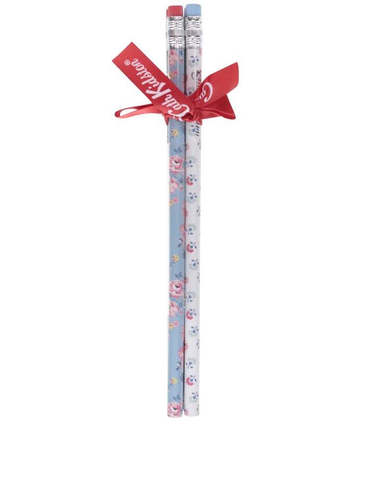 Bielo-modrá súprava ceruziek s kvetinami Cath Kidston