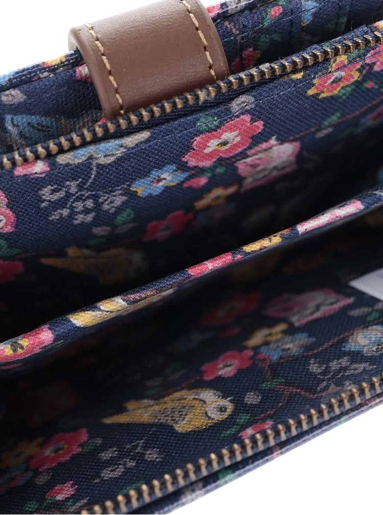 Tmavomodrá peňaženka so sovami Cath Kidston