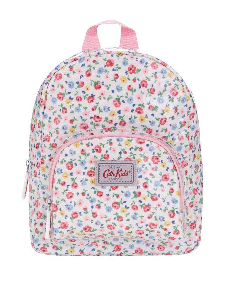 Růžovo-krémový dívčí batoh s květinovým motivem Cath Kidston