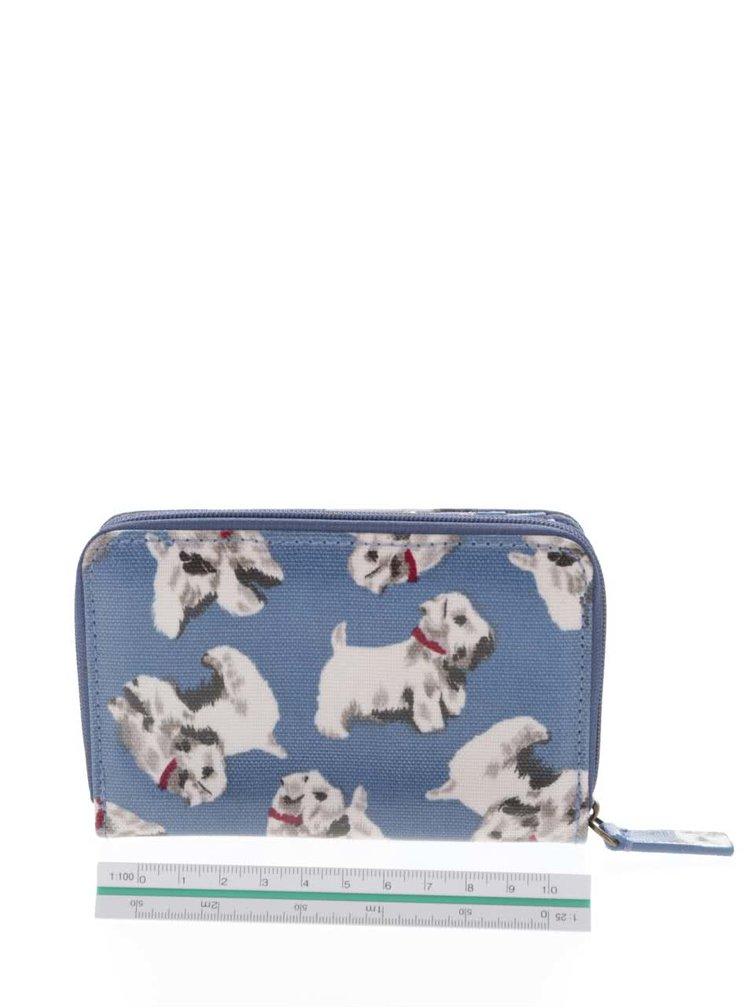 Modrá peněženka s motivem psů Cath Kidston