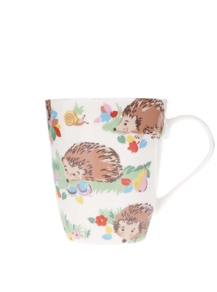 Krémový hrnček s ježkami Cath Kidston