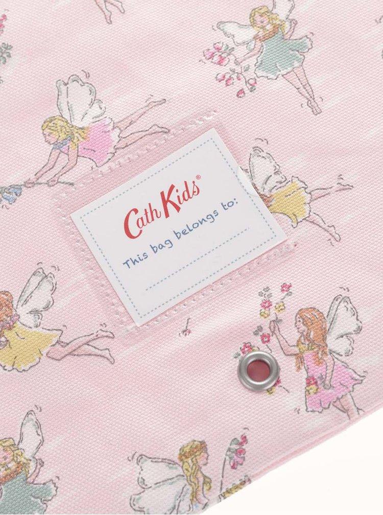 Růžový holčičí vak s vílami Cath Kidston