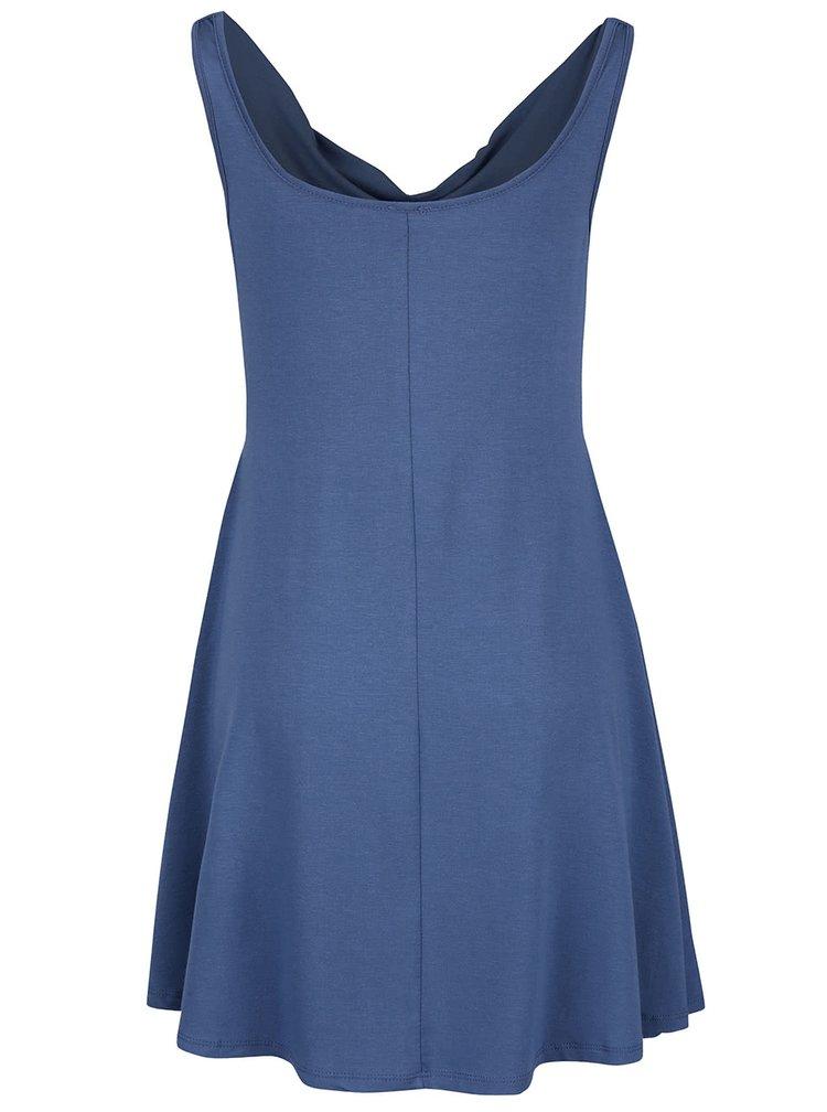 Modré šaty s prověšeným výstřihem ZOOT simple