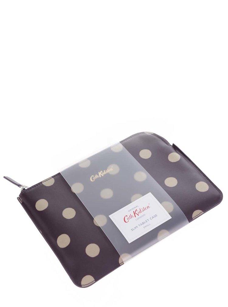 Fialové puzdro na tablet s bodkami Cath Kidston