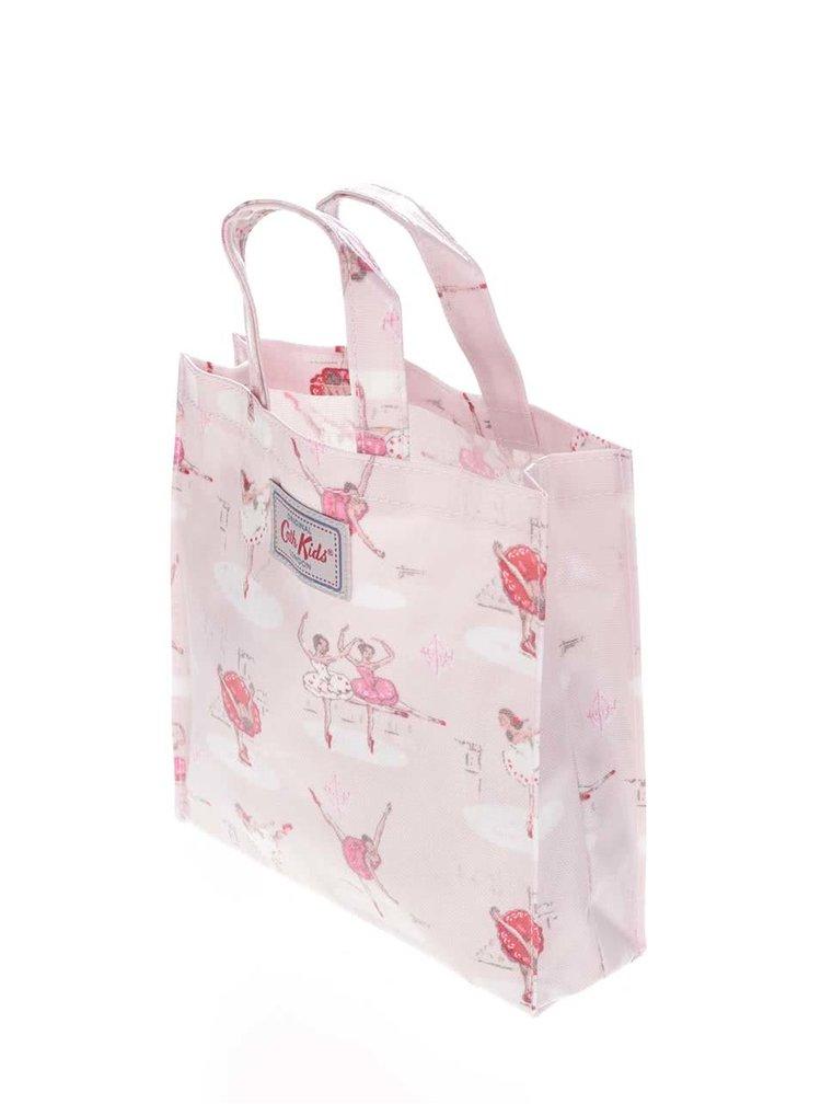 Růžová taška s baletkami Cath Kidston