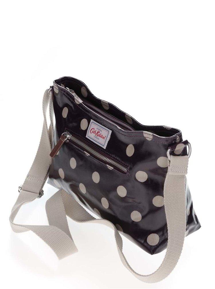 Fialová menšia kabelka s bodkami Cath Kidston