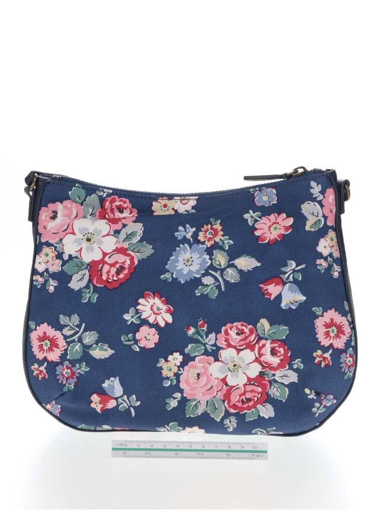 Tmavě modrá crossbody kabelka s květovaným motivem Cath Kidston