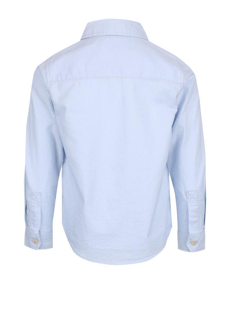 Svetlomodrá chlapčenská košeľa name it Oxford