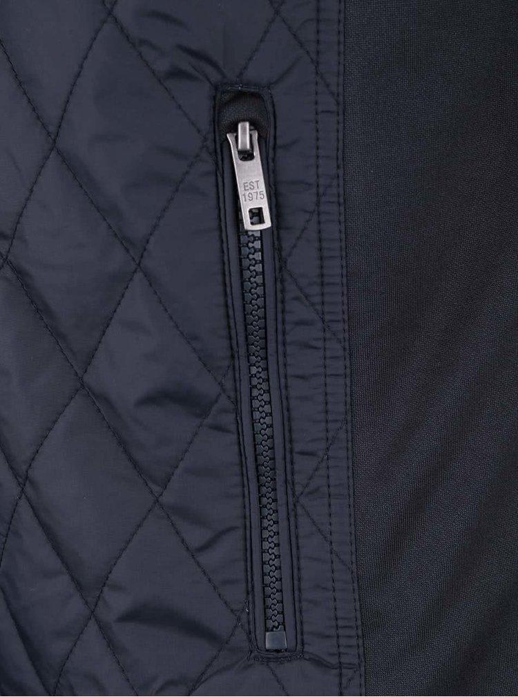 Tmavě modrá prošívaná bunda Jack & Jones Nikolai