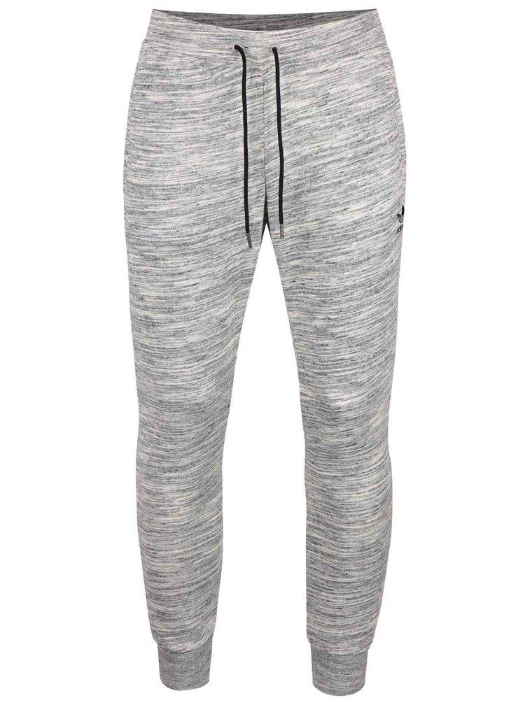 Pantaloni sport gri melanj Adidas Originals PT