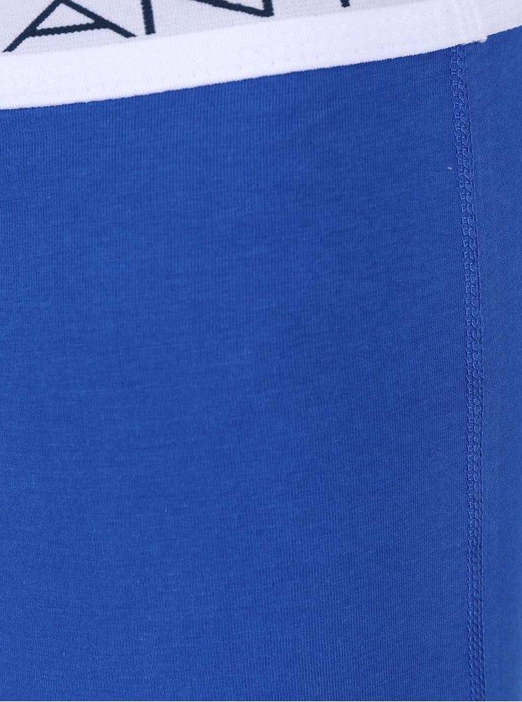Sada tří modrých boxerek GANT