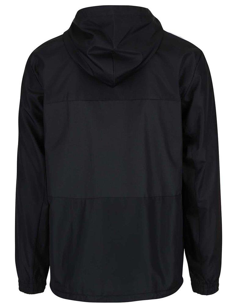Čierna pánska ľahká bunda s kapucňou adidas Originals CLFN