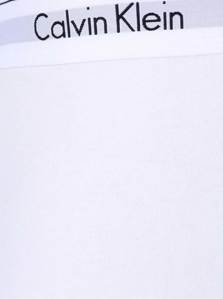 Set de doi boxeri lungi albi - Calvin Klein Underwear