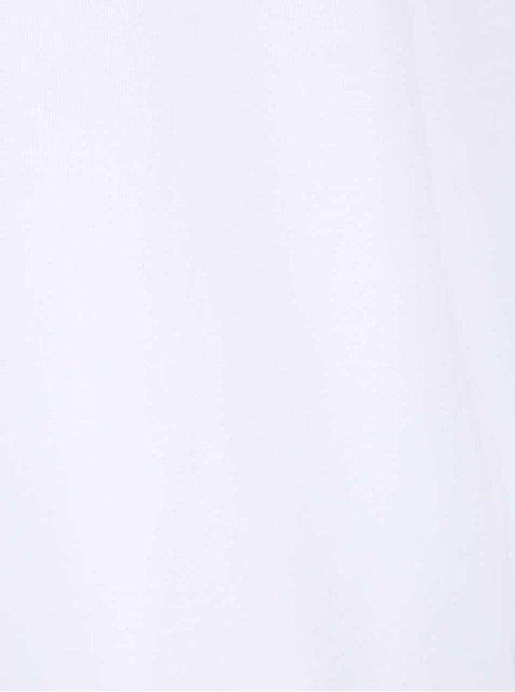 Set 2 tricouri albe regular fit Calvin Klein